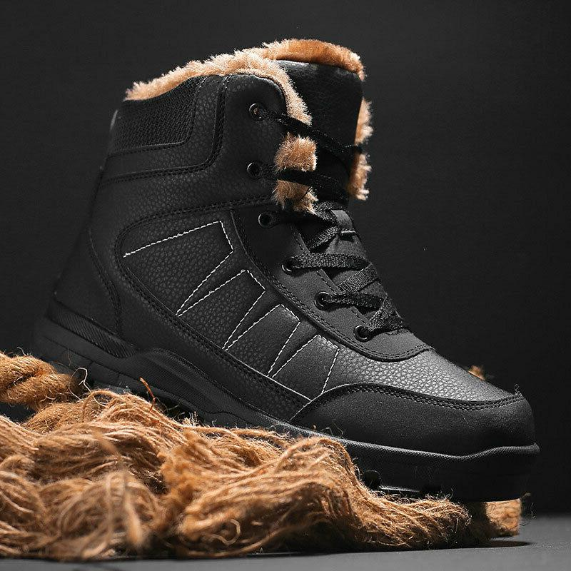 Fashion Lace Lined Anti-Slip Comfort Boots