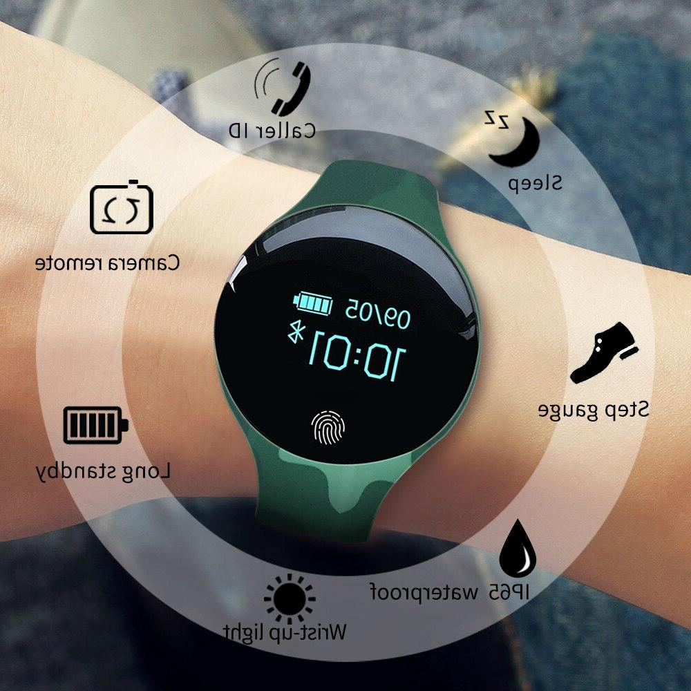 Fingerprint Smart Sport <font><b>Men</b></font> Women Watches Bracelet Band reloj inteligente