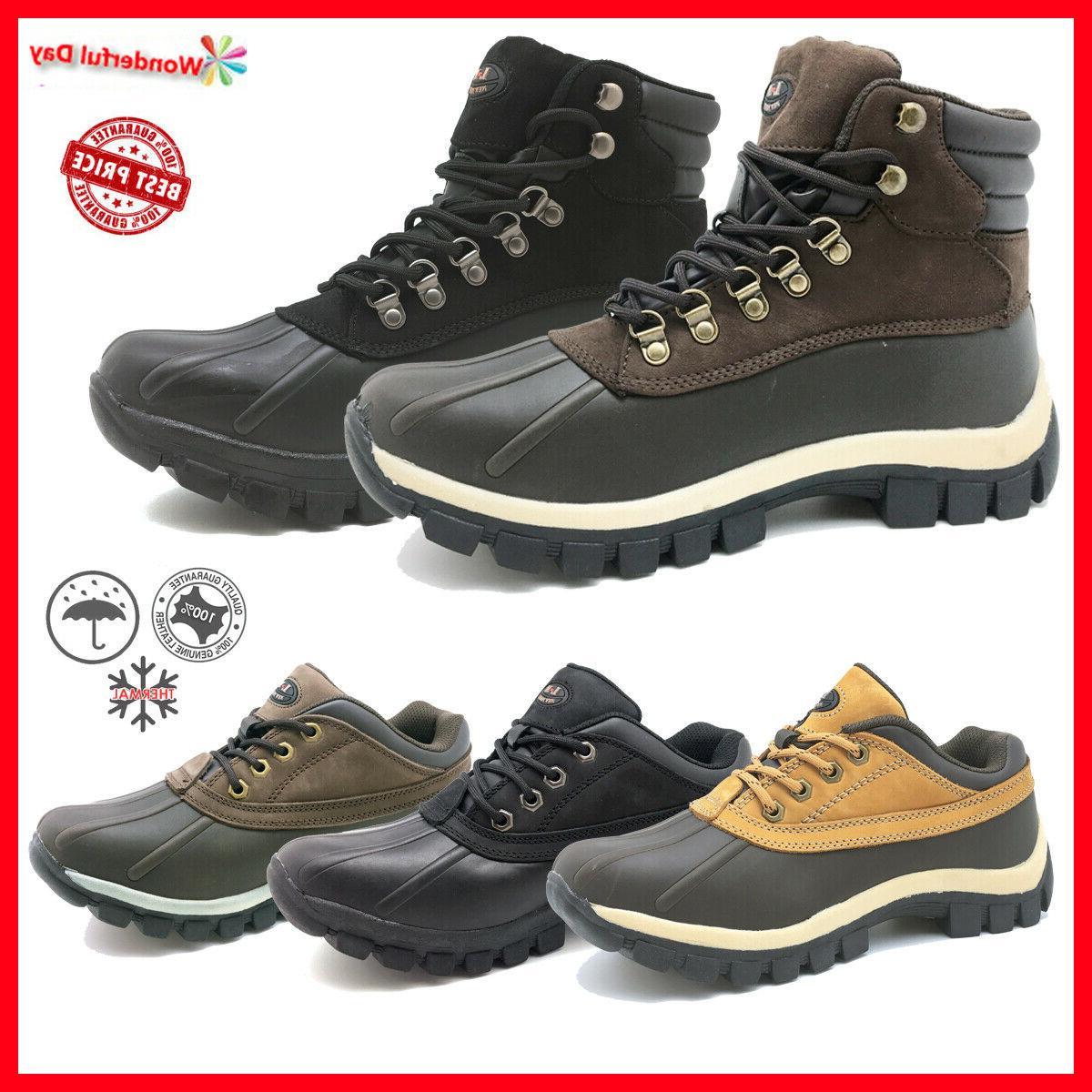 lm men s winter snow boots shoes