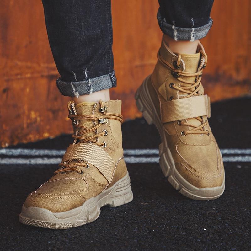 Men Military Tactical <font><b>Boots</b></font> Winter Force Desert <font><b>Boots</b></font> Army