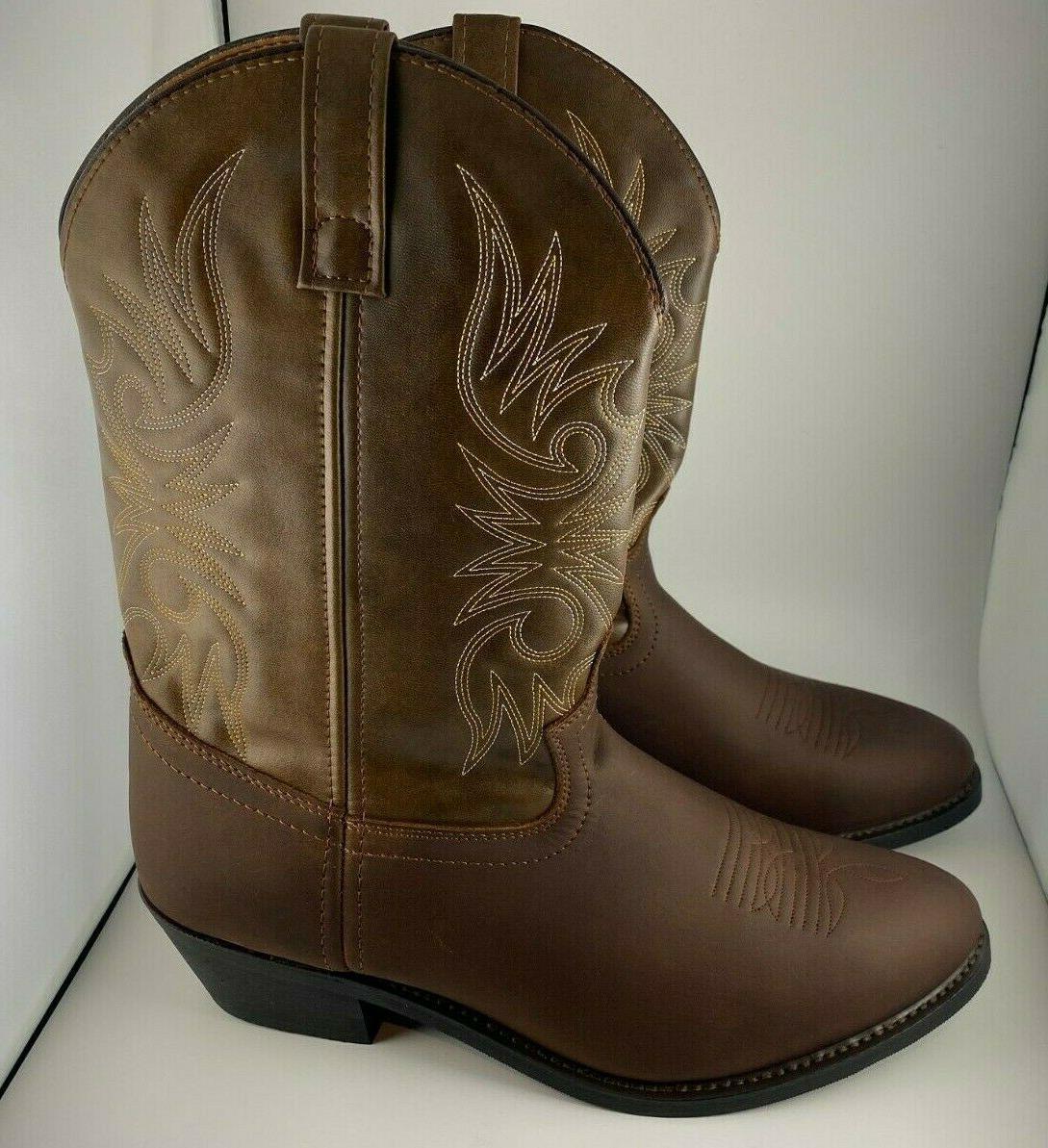 Men's Laredo Western Cowboy Boots Wide