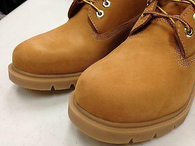 "Men's 6"" Classic Nubuck Waterproof Boots Wheat 10066"