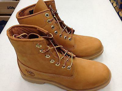 "Men's Timberland 6"" Classic Nubuck Waterproof Work Boots"