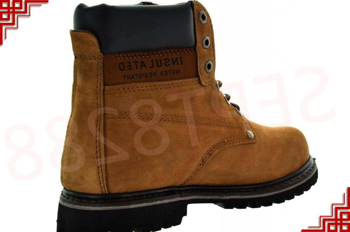 Men's Work Shoes Steel Toe Leather A6011ST