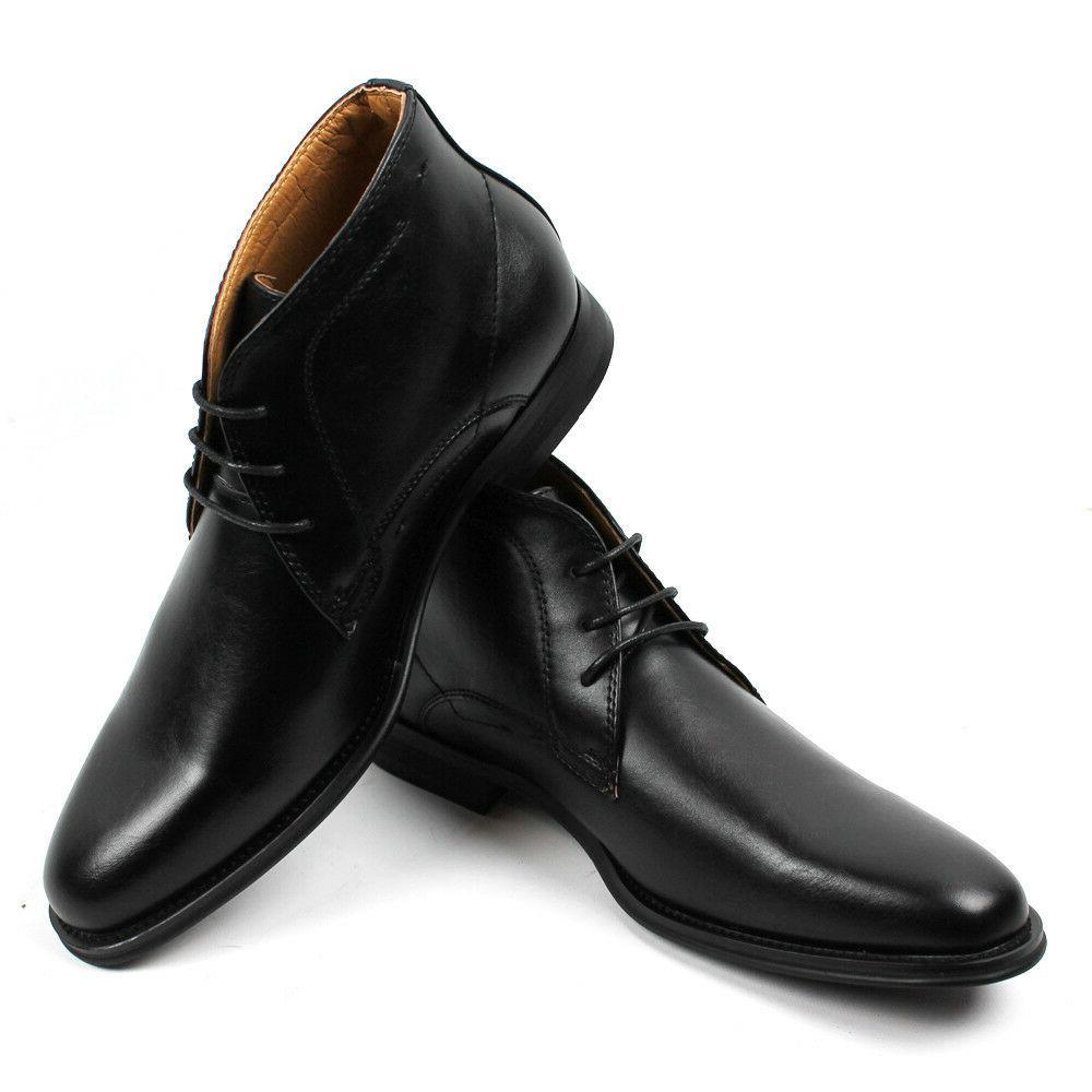Round Leather Santino