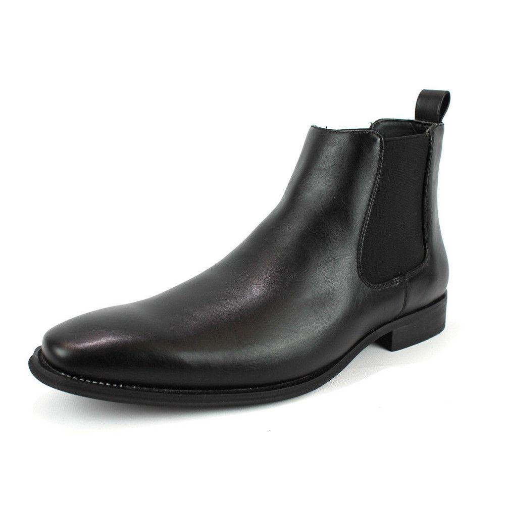 Men's Ankle Slip Round Toe Luciano D-510