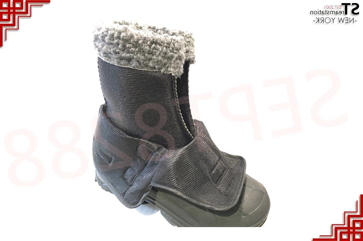 Men's Black Winter Boots Warm Thermolite