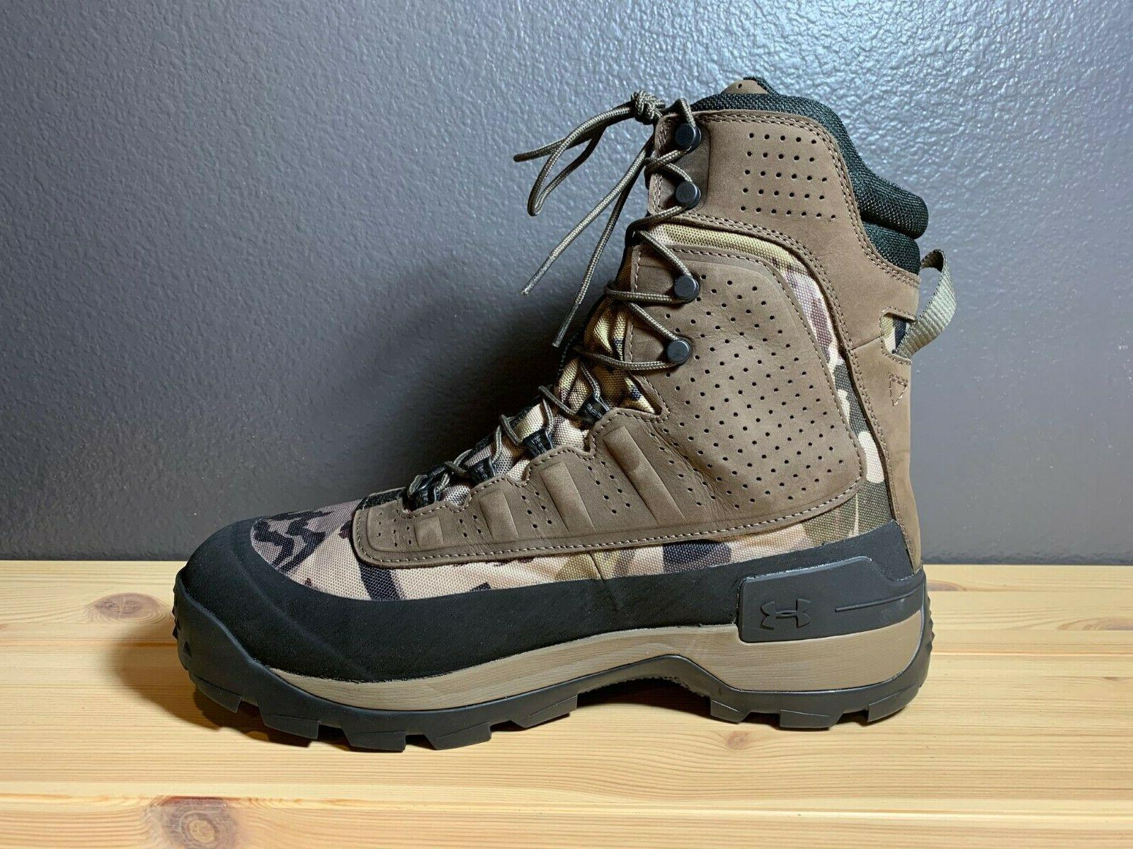 Men's Armour Brow Tine Boots Size