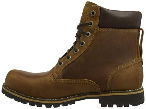 Timberland Men's Earthkeepers Boot, Red Brown, M