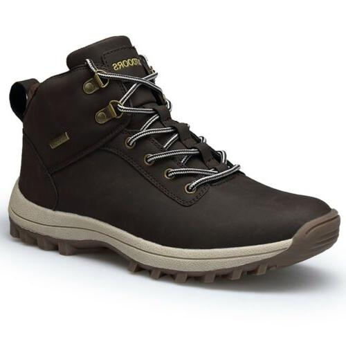 Men's Leather Outdoor Martin Boots Shoes