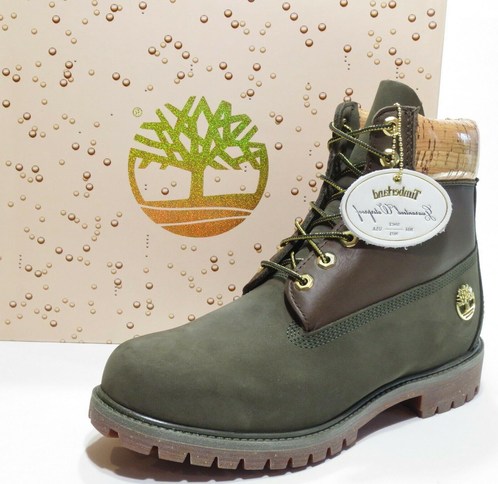 Timberland Men's Premium 6 inch Limited Release Boots Dark