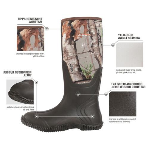 HISEA Neoprene Boots Insulated Breathable Outdoor