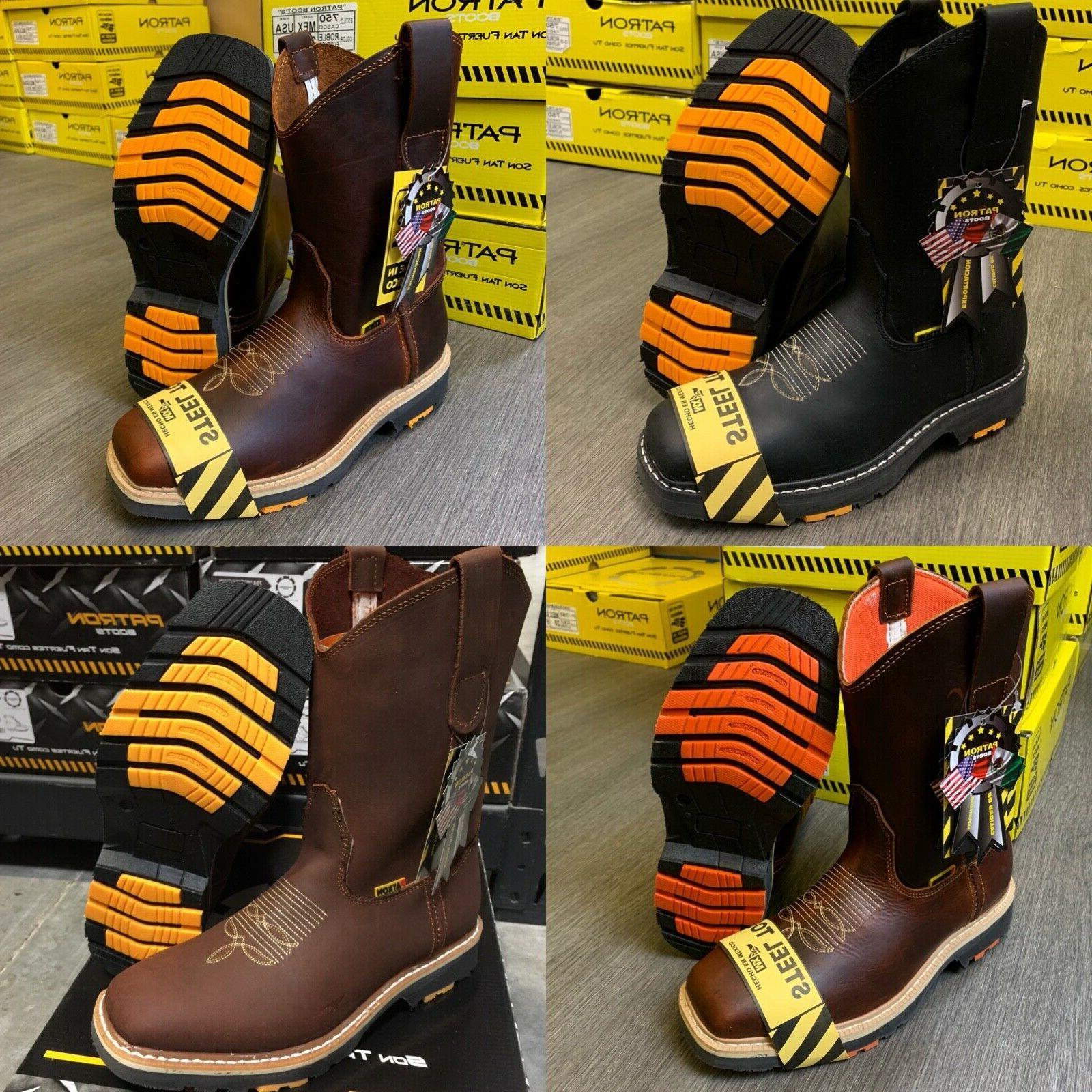 men s steel toe work boots genuine