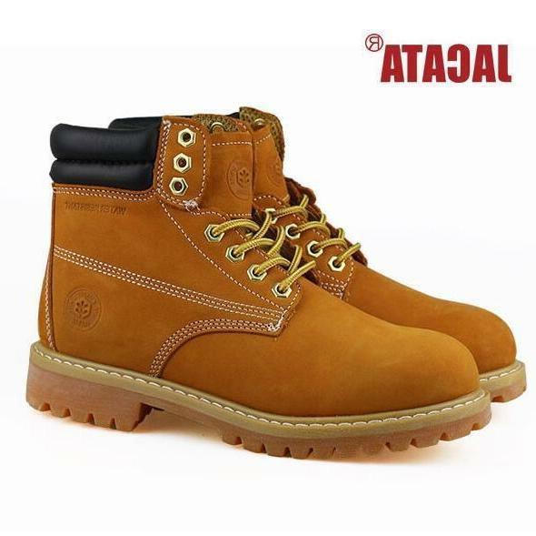 "Jacata Men's Winter Snow Work Boots Shoes 6"" Premium Waterpr"
