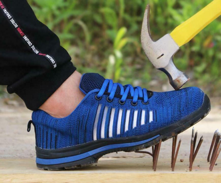 Men Safety Steel Toe Work Shoes Breathable Casual Boots Hiki