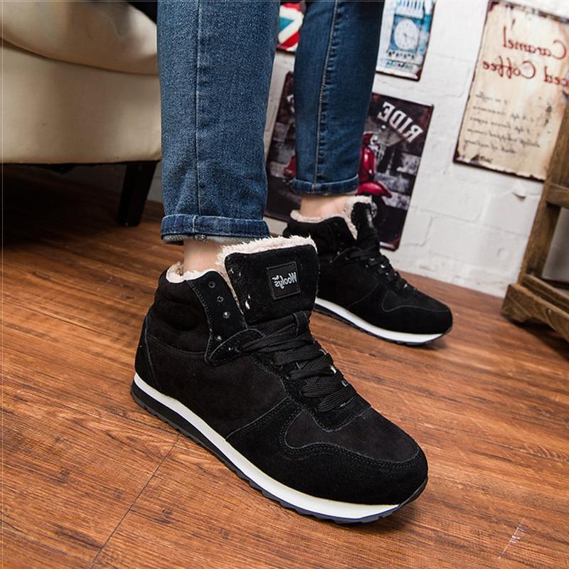 Men <font><b>Sneakers</b></font> Size Ankle Botines Hombre Footwear