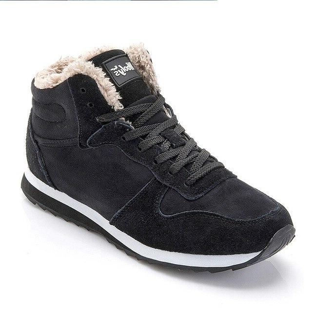 Men Winter For Men Winter <font><b>Sneakers</b></font> Snow Size Hombre Blue Mans Footwear