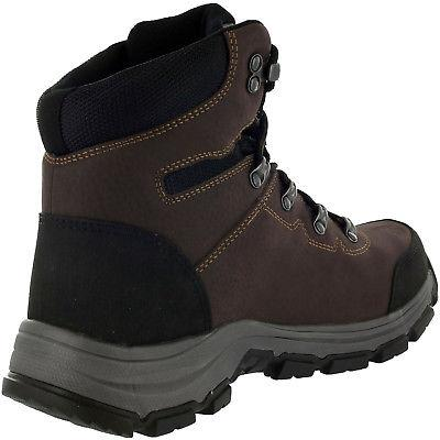 Magnum Mens Mid Waterproof Toe Work Coffee