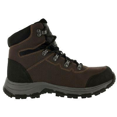 Magnum Mens Mid Steel Toe Work Boots Coffee