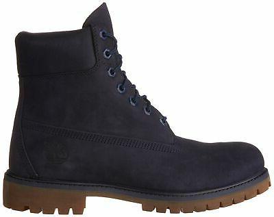 Timberland Mens Premium Waterproof Boots, Navy,