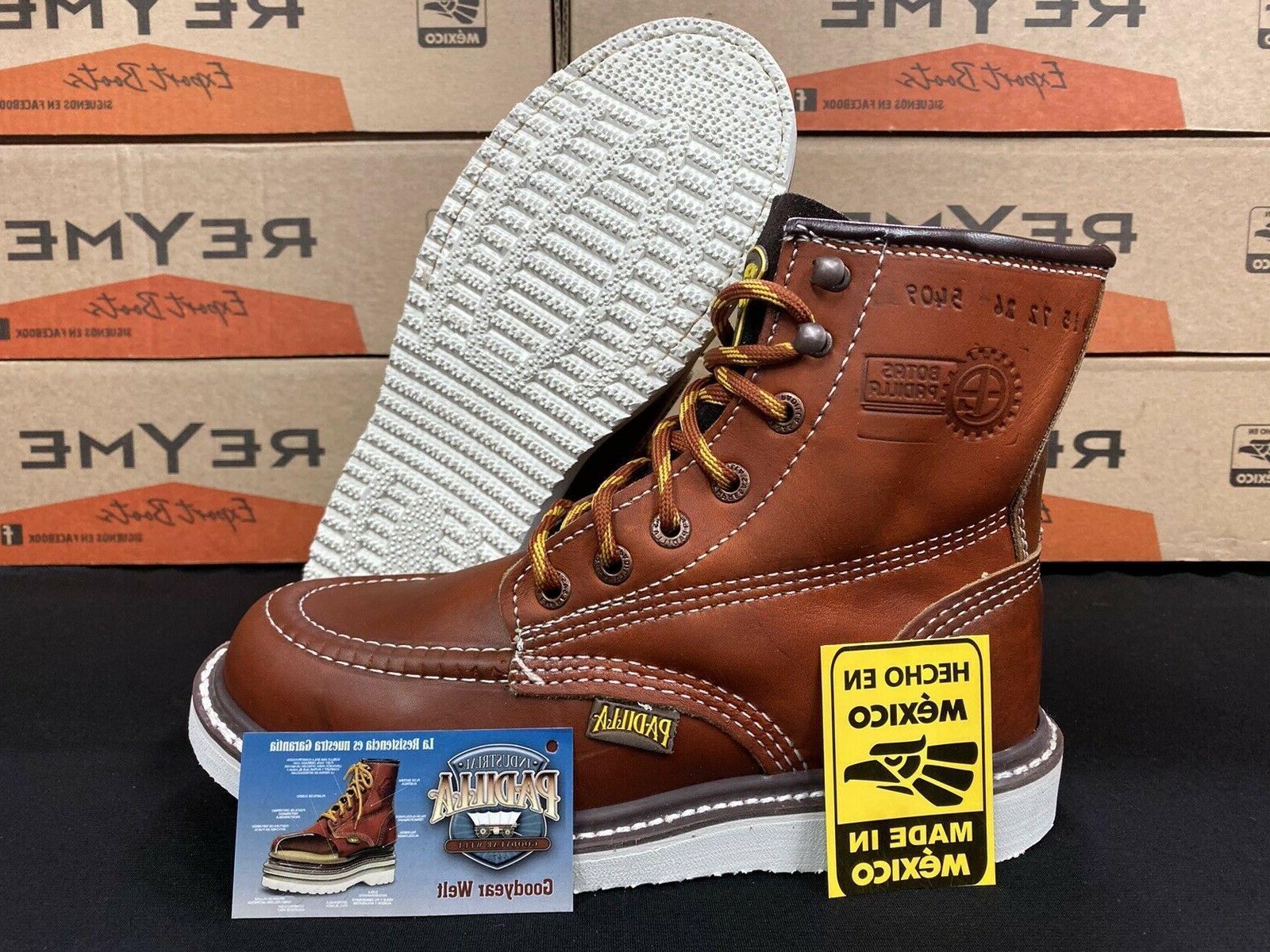 Men's Soft Toe Oil Resistant Waterproof Boots