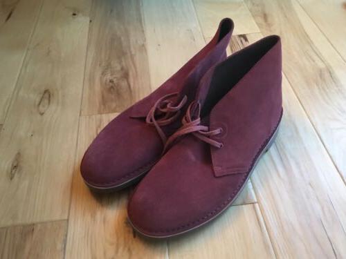 Mens Clarks Bushacre Desert Shoes