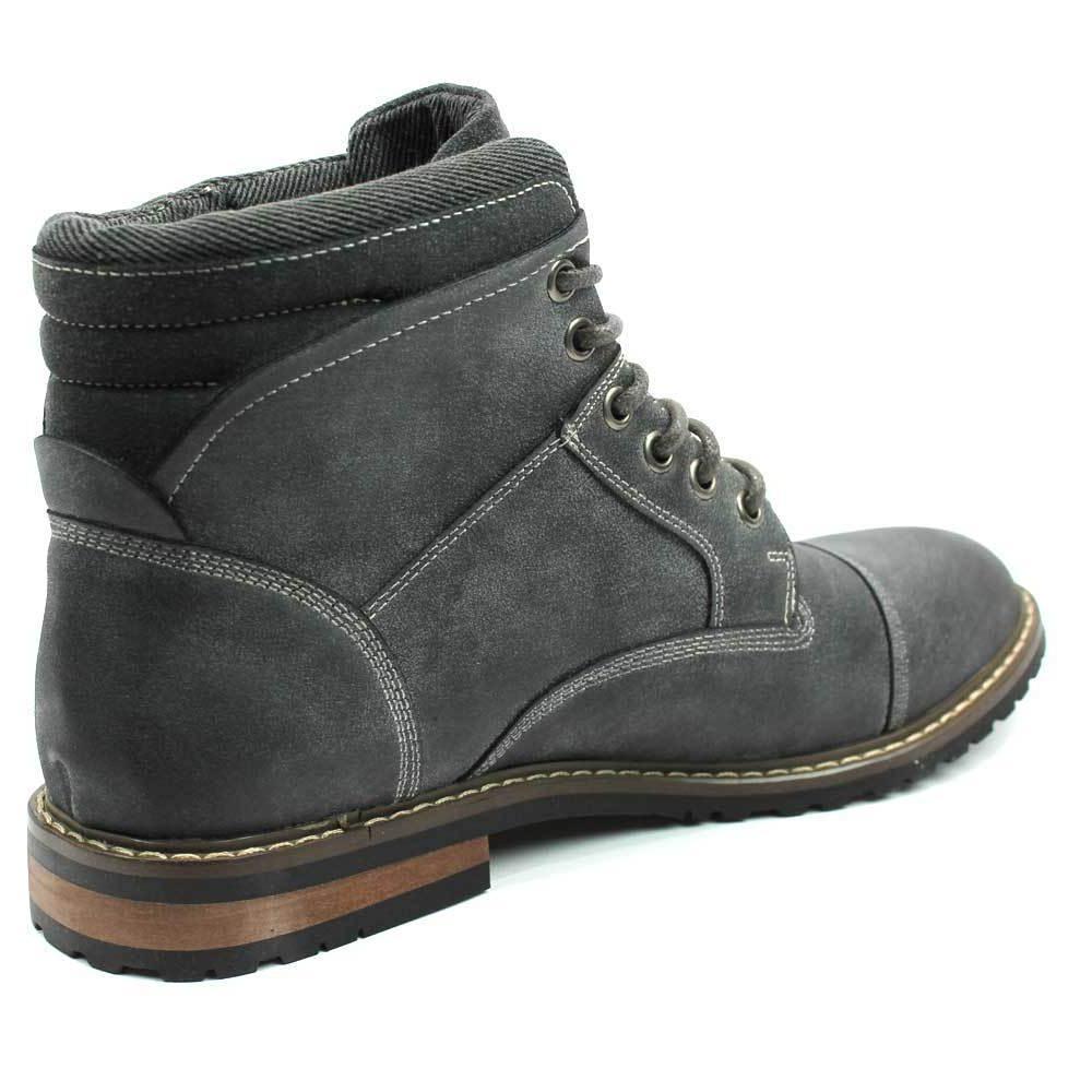 Mens Toe Dress Boots Up Footwear