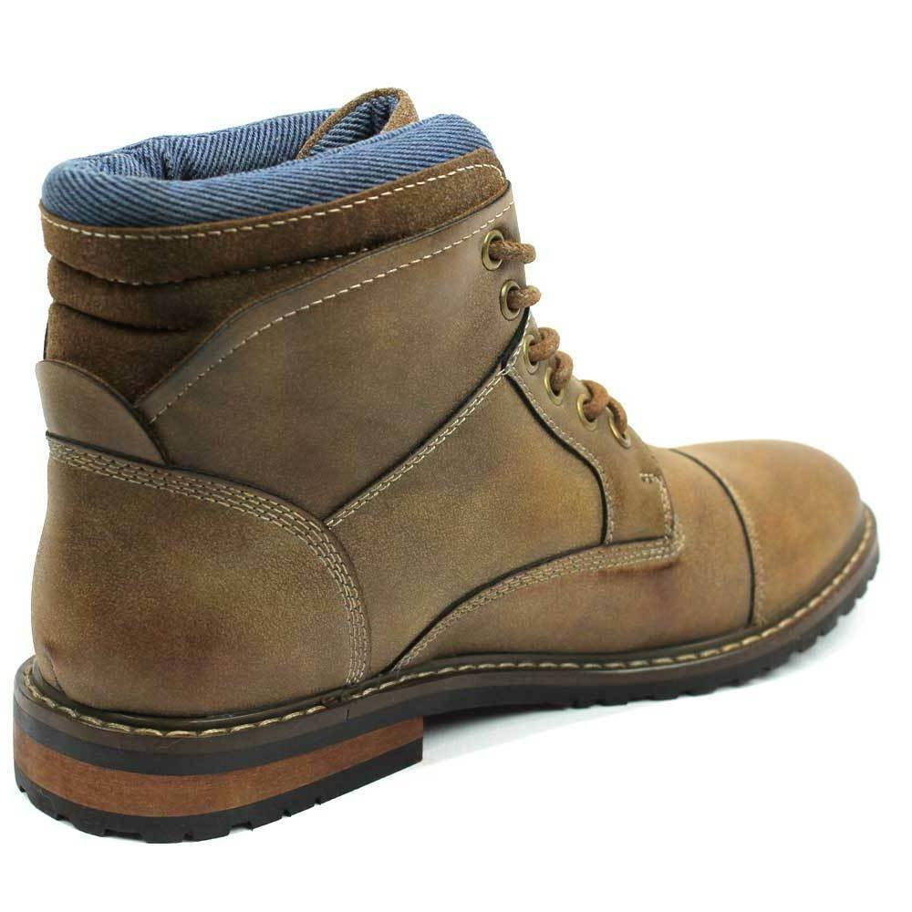 Mens Cap Toe Dress Up Denim Friendly Footwear