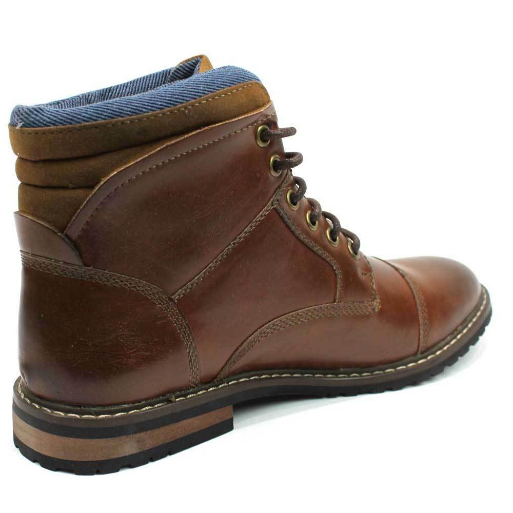 Dress Derby Boots Up Denim Footwear AZAR