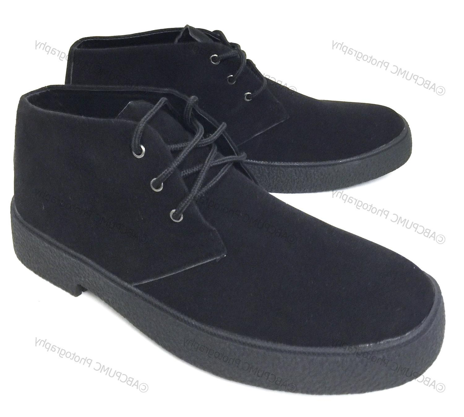 Mens Casual Wallace Lace-up Desert Lined