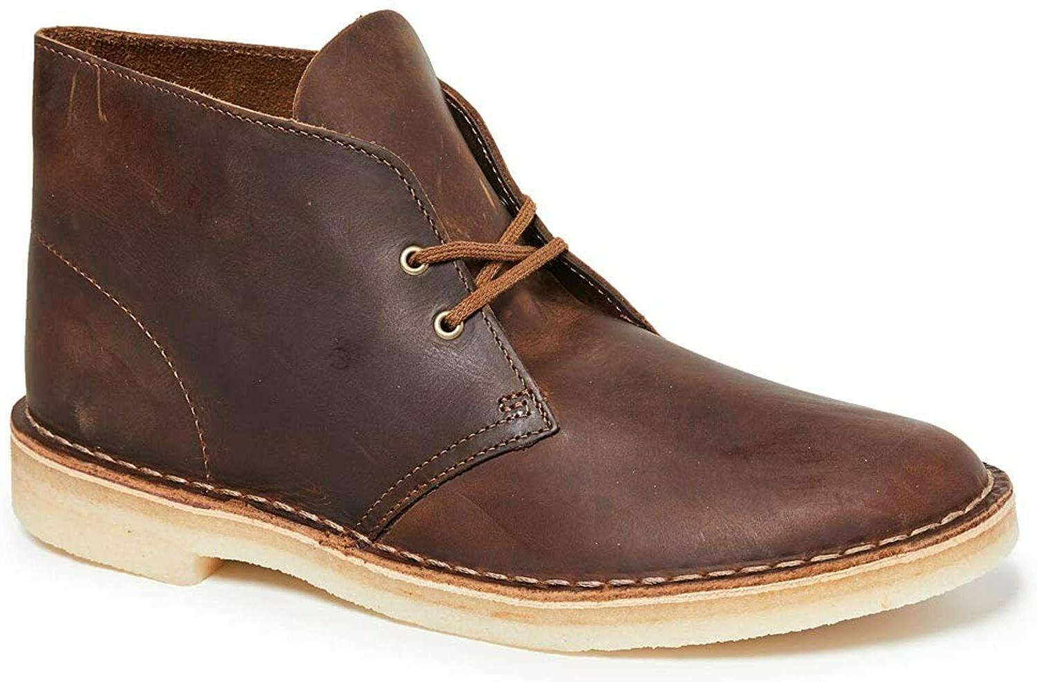 mens desert boots beeswax leather 261 06562