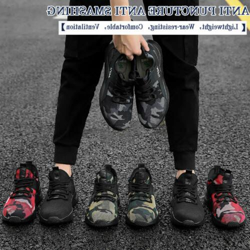 Mens Toe Safety Shoes Boots Lightweight Indestructible Sneakers