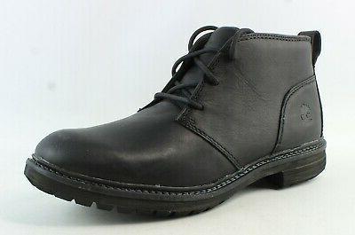 mens logan bay black full grain leather