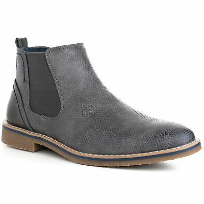 mens nash chelsea boots snakeskin ankle boot