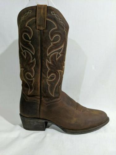 Dan Post Mens Mignon Western Cowboy Stitch Bay Apache