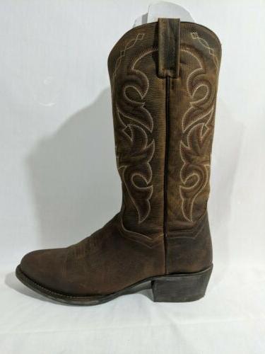 Dan Post Mens Renegade Mignon Cowboy Boots Stitch