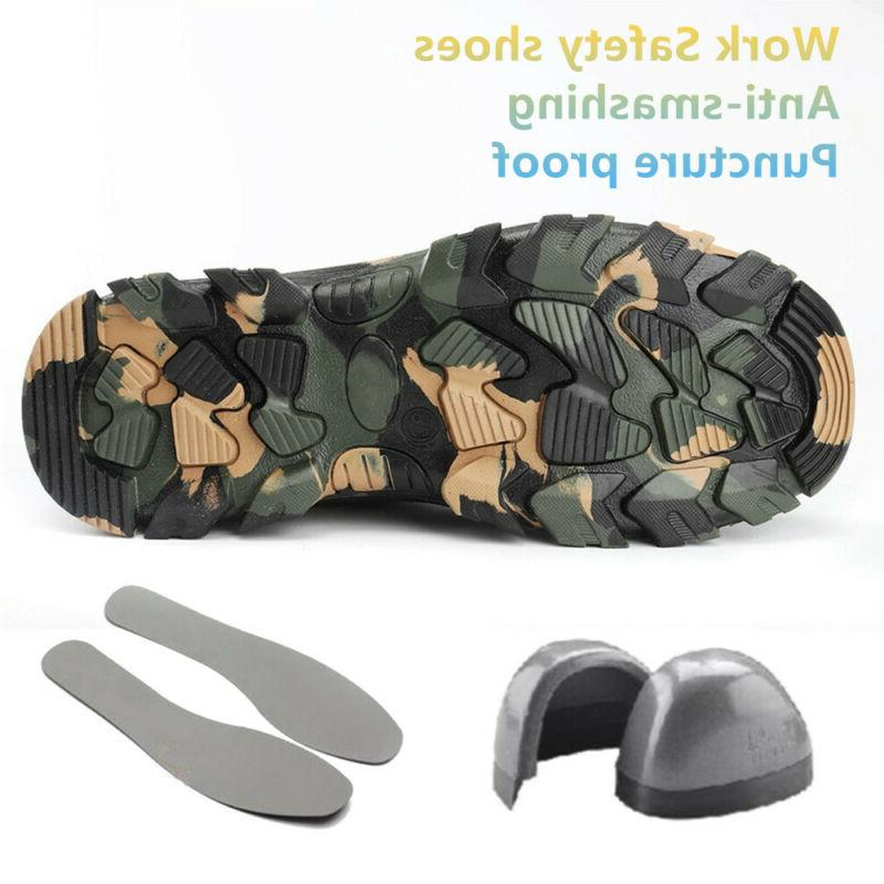 Mens Safety Steel Boots Bulletproof Sport