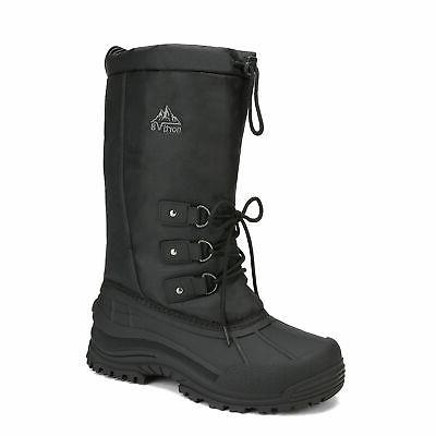 NORTIV Boots Water-resistant Insulated Fur Liner