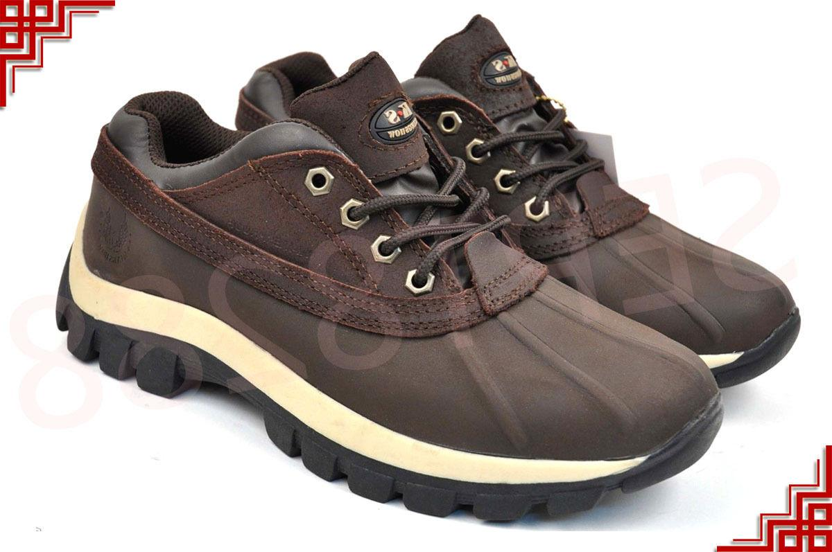 Short Winter Shoes Genuine Waterproof 3017