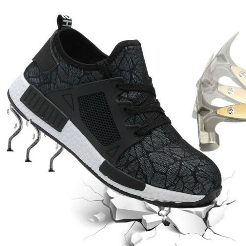 Mens Safety Shoes Sneakers