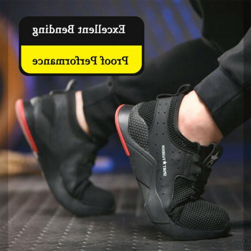 Mens Shoes Toe Sneakers Lightweight