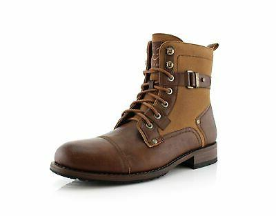 mike mpx88575 casual dress boots with buckles