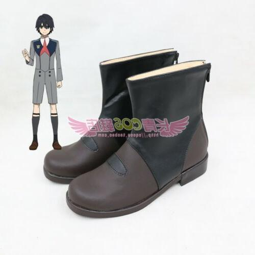 NEW the HIRO Men's Cosplay Shoes Ankle Boot