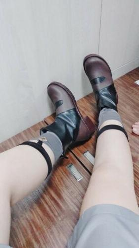 NEW Anime in the FRANXX Code HIRO Men's Cosplay Shoes Ankle Cos