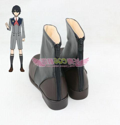 NEW Anime DARLING in the FRANXX Code HIRO Men's Cosplay Shoes Ankle
