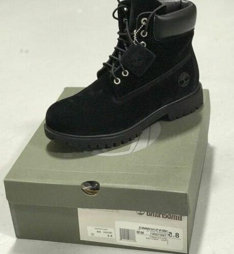 mens black boots brand new free shipping