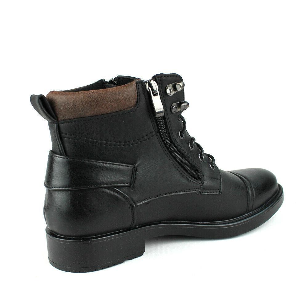 New Mens Dress / Casual Boots Lace Up Zipper Alberto