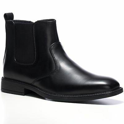 nyon mens chelsea boots dress ankle slip