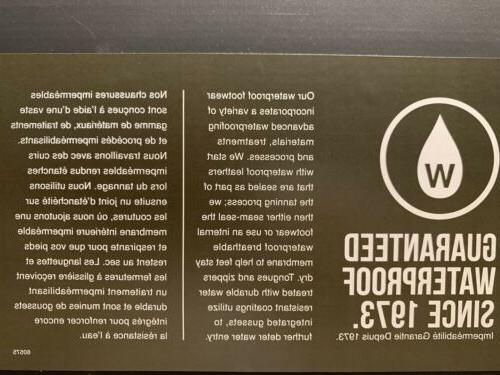 Timberland WP Warm Lined Mens Black Nubuck TB0A2957 001