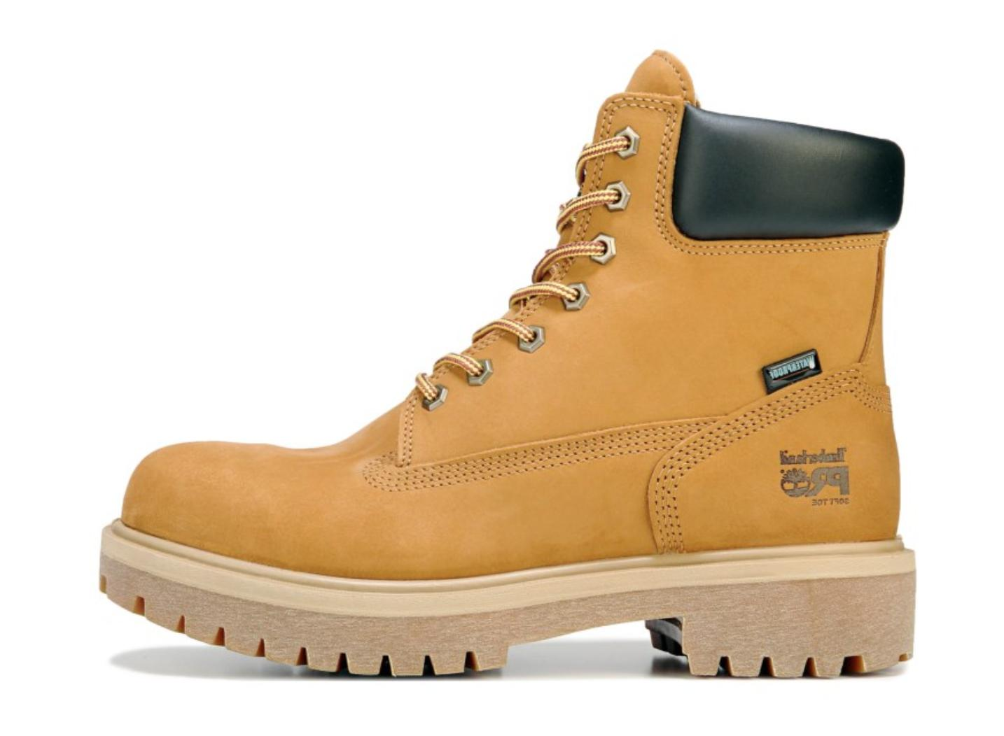 """TIMBERLAND PRO ATTACH 6"""" Working BOOTS toe Men's"""
